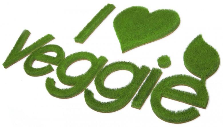 Reliefbild Logo aus Gras in Restaurant